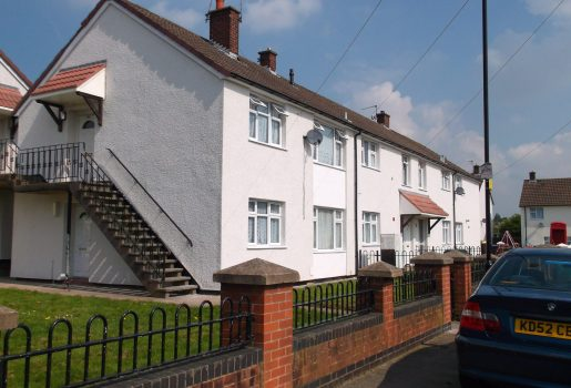 External Wall Insulation detached