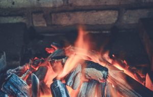 firewood fire